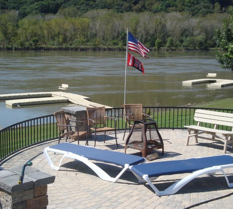 Ames, Iowa - American Fence Company - Custom Railing