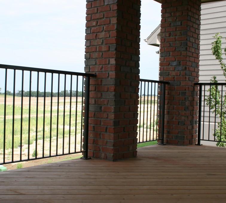 AFC Ames - Custom Railing, 2210 Deck railing