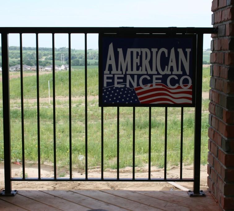AFC Ames - Custom Railing, 2212 Deck Railing