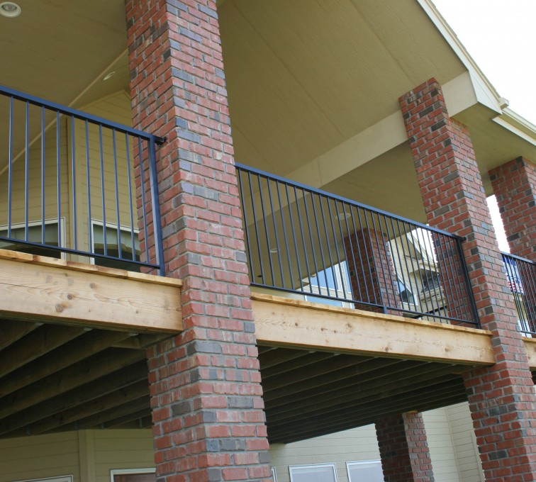 AFC Ames - Custom Railing, 2213 Deck Railing