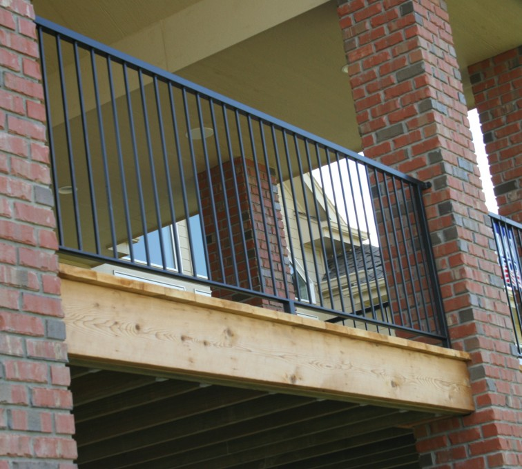 AFC Ames - Custom Railing, 2214 Deck Railing