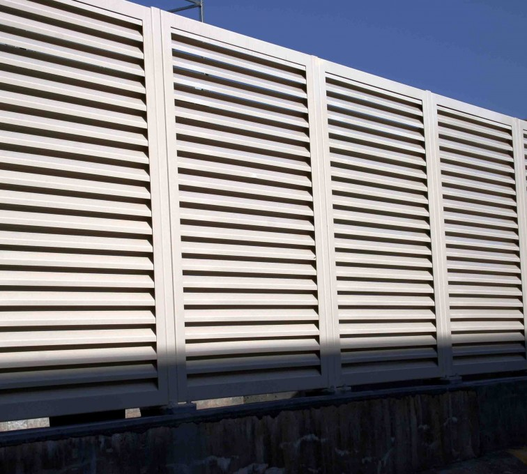 AFC Ames - Louvered Fence Systems Fencing, 2223 Louvered Fence