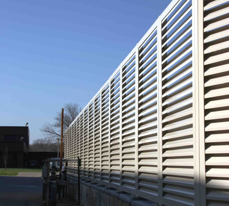 AFC Ames - Louvered Fence Systems Fencing, 2224 Louvered Fence