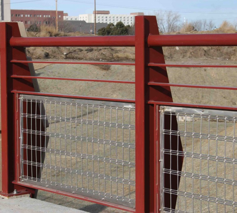 AFC Ames - Custom Railing, 2224 Stainless Steel In-fill Railing