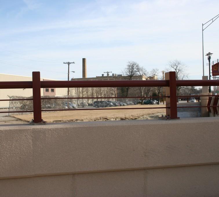 AFC Ames - Custom Railing, 2226 Knee Wall Railing