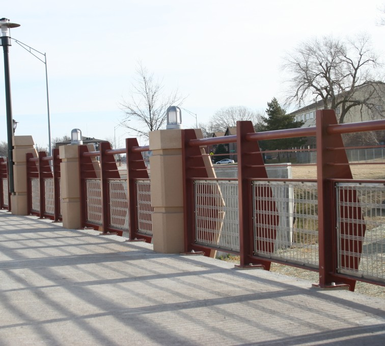 AFC Ames - Custom Railing, 2227 Stainless Steel In-fill Railing
