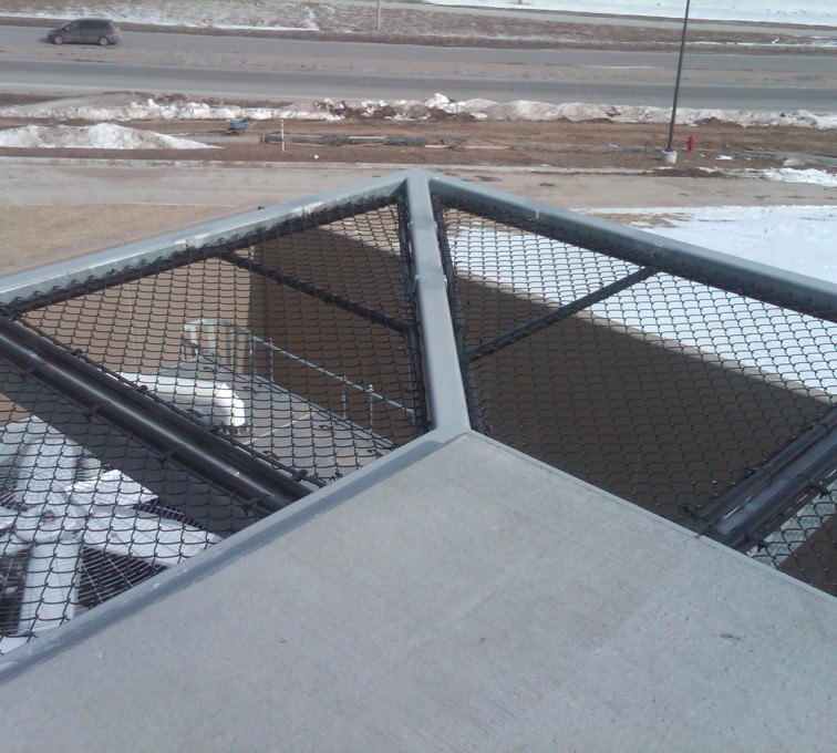 AFC Ames - Chain Link Fencing, Bellevue Hospital 25th and Cornhusker(10)