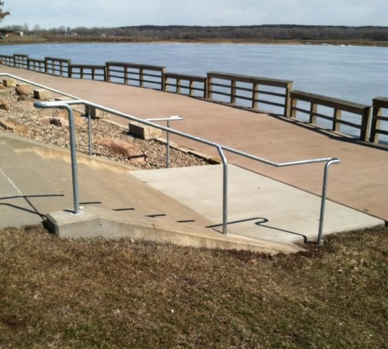 AFC Ames - Custom Railing, Custom Galvanized Handrail - AFC - IA