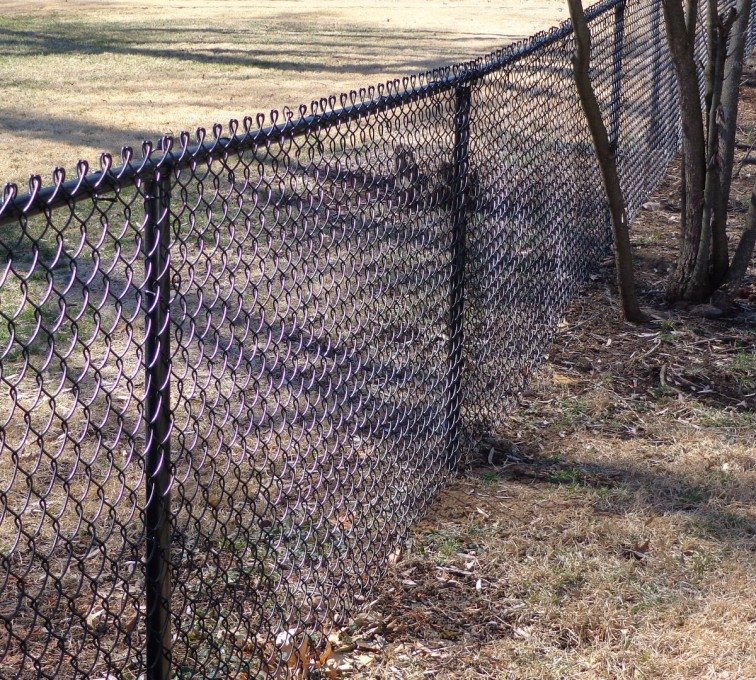AFC Ames - Chain Link Fencing, 4' Black Vinyl Chain Link - AFC-KC