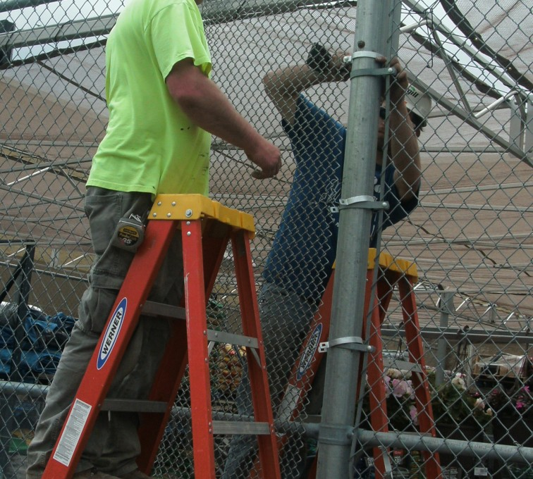 AFC Ames - Chain Link Fencing