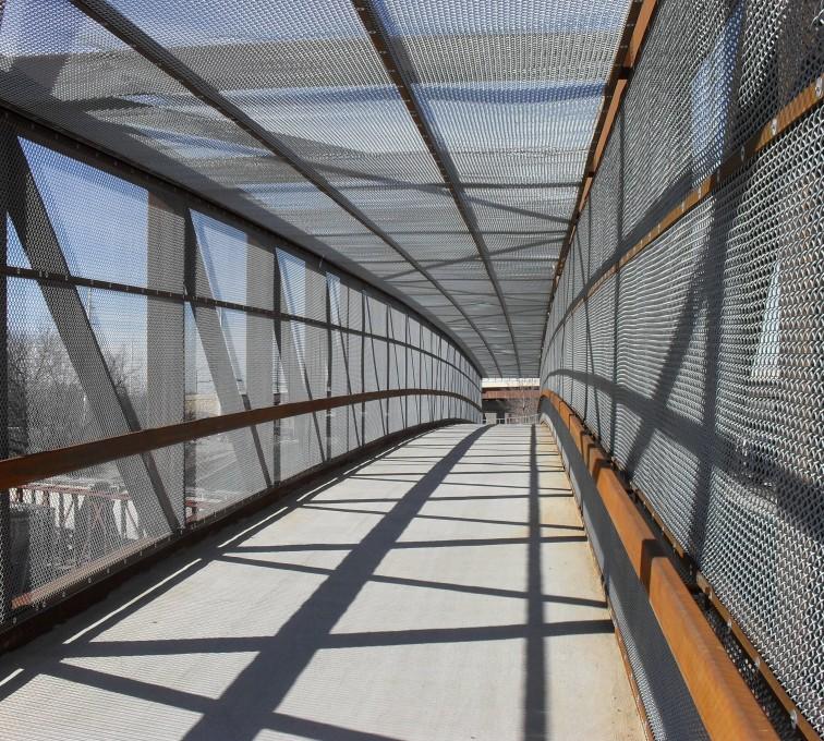 AFC Ames - Chain Link Fencing, Holdrege Street Bridge Inside