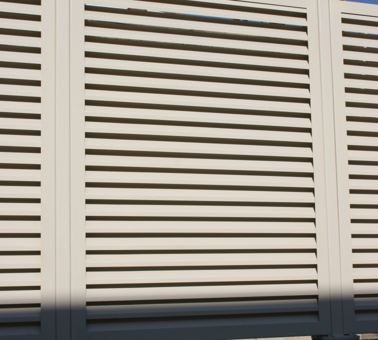 AFC Ames - Louvered Fence Systems Fencing, Louvered Fence Panel