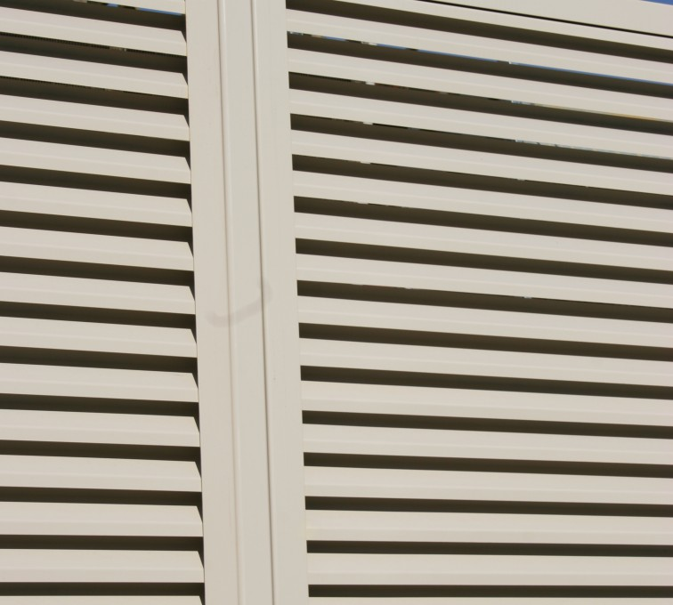 AFC Ames - Louvered Fence Systems Fencing, Louvered Fence Post