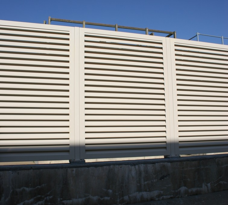 AFC Ames - Louvered Fence Systems Fencing, Louvered Fence System