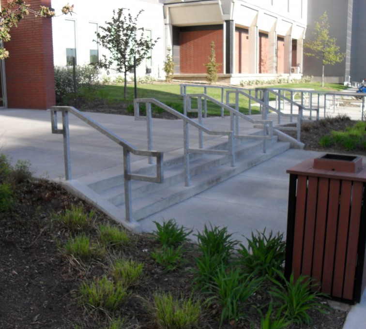 AFC Ames - Custom Railing, UNL Handrail