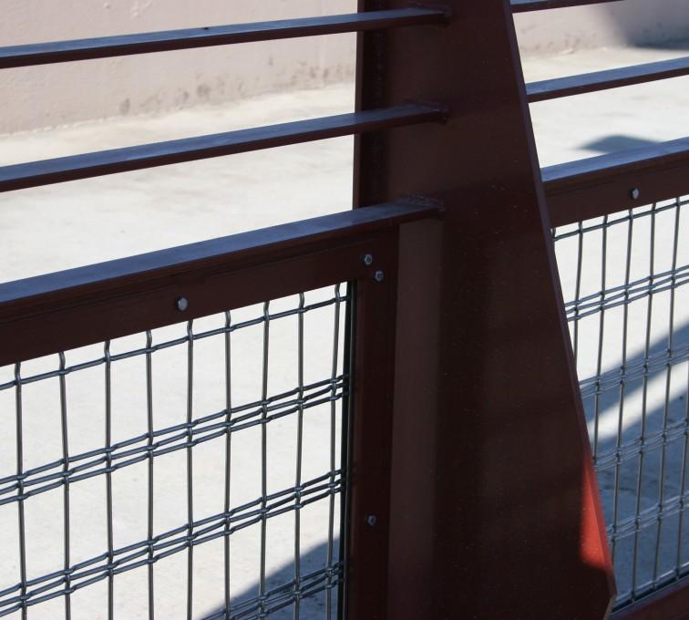 AFC Ames - Custom Railing, Vine 1
