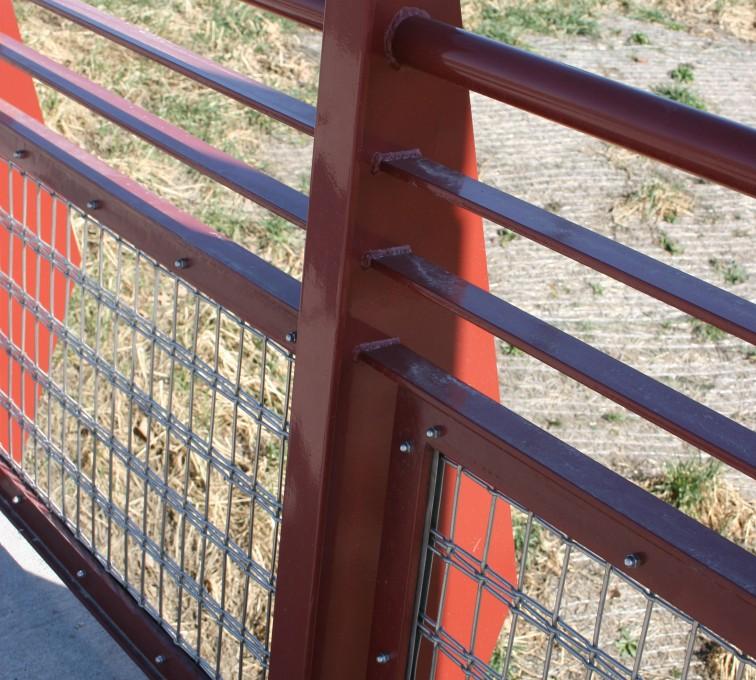 AFC Ames - Custom Railing, Vine 15
