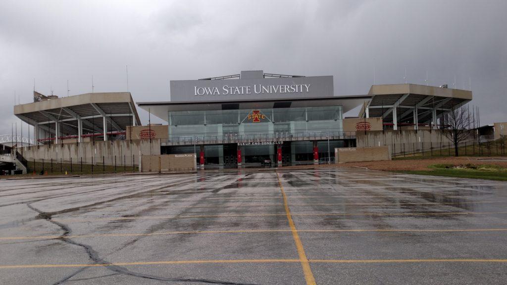 Iowa State University's football stadium for the Cyclones